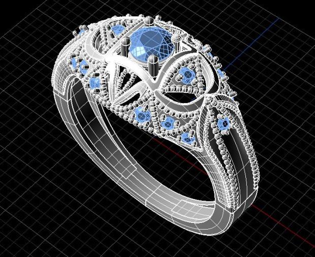 Biżuteria przyszłości, każdy może stworzyć indywidualny projekt w technologii 3D.