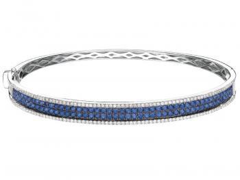 Zawsze modne szafiry i diamenty. Cena bransolety ok. 10 tys. zł.