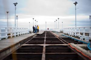 Wykonawca zgłosił MOSiR-owi, że konstrukcja molo pokryta jest rdzą i wymaga piaskowania. Miejska spółka się z tym nie zgadza i zrywa umowę.