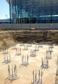 Wkrótce rozpocznie się wylewanie pierwszych fundamentów pod 900-metrową estakadę przy gdańskim lotnisku. W jednym z fundamentów zostanie umieszczony kamień węgielny.