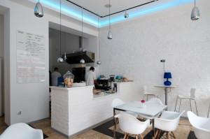 Niebo - kawiarnia, która serwuje dania wyłącznie z ekologicznych produktów.