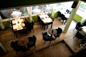 Restauracja Pesto serwuje włoską kuchnię.