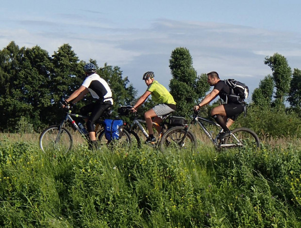 Migawki z popołudniowego wypadu rowerowym Szlakiem Motławskim przez Żuławy Gdańskie