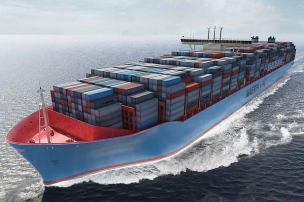 Statek Maersk Mc-Kinney Møller należy do klasy Triple-E i jest największym kontenerowcem świata. Może pomieścić 18 tys. kontenerów. W swoim pierwszym rejsie zawinie także do Gdańska.