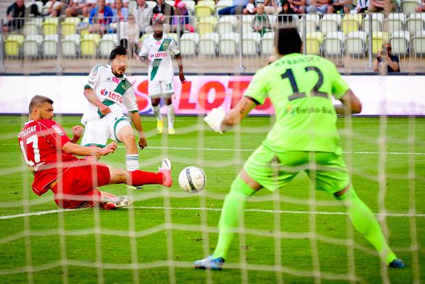 Daisuke Matsui strzelił dwa gole dla Lechii.