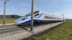Pociąg Pendolino w barwach PKP Intercity. Na razie do obejrzenie tylko w komputerowej animacji.