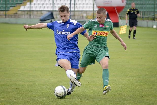 Łukasz Kacprzycki, razem z rezerwami Lechii, powinien rozpocząć sezon III-ligowy.