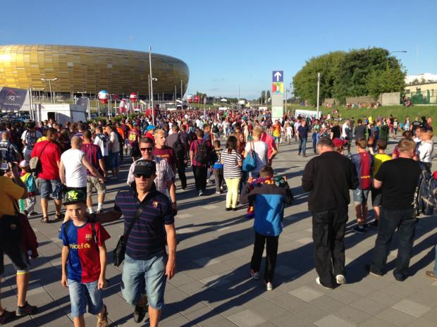Kibice będą mieli dwie godziny, by wejść na stadion i zająć swoje miejsca.