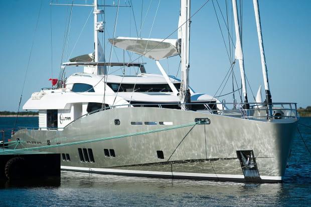 Conrad 115 Lunar opuści Jachtklub Stoczni Gdańskiej w poniedziałek. Uda się wtedy w dziewiczy rejs po Morzu Śródziemnym.
