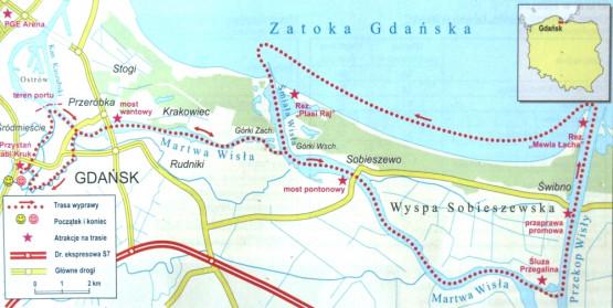 Schemat trasy