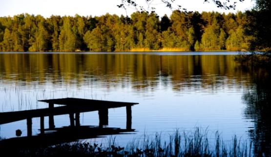 Główny cel naszej wycieczki to Jezioro Kamień
