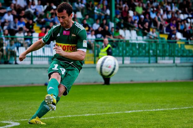 Piotr Wiśniewski z rzutu karnego przypieczętował w Tarnobrzegu awans Lechii do 1/8 finału Pucharu Polski.