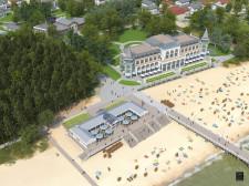 Najnowsza koncepcja dla budowy Hali Plażowej.