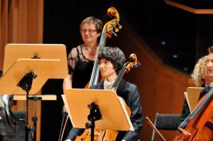 Szeregi orkiestry zasilili dodatkowo muzycy PFB (po dwa oboje, waltornie, kontrabasy i cztery wiolonczele).