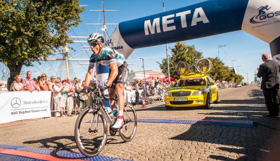Migawki z wyścigu kolarskiego Cyklo Gdynia