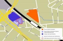 Rozbudowana Galeria Bałtycka i centrum Hevelius będą sąsiadami. Dzielić je będzie wyłącznie linia kolejowa.