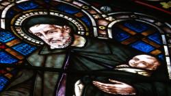 Święty Wincenty à Paulo był patronem zakonników, którzy posługiwali w kościele św. Wojciecha.