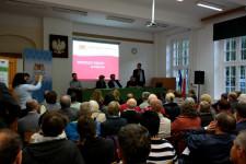 W środowym spotkaniu wzięło udział ok. stu osób, ale do końca trzygodzinnego wykładu dotrwała garstka osób.