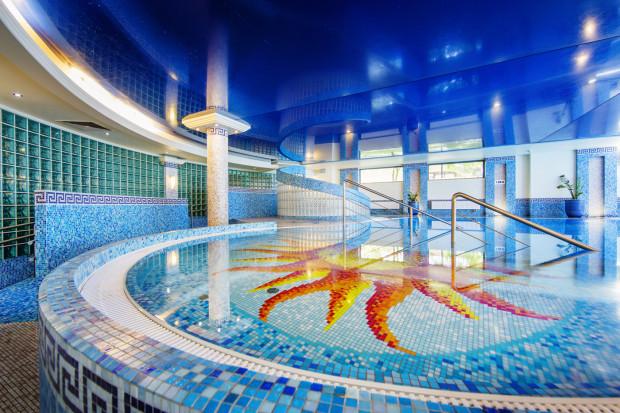 Piękny wystrój, kameralna atmosfera, innowacyjność, cena karnetu - każdy z nas kieruje się innymi kryteriami podczas poszukiwań basenu idealnego. Na zdjęciu: basen hotelu Haffner.