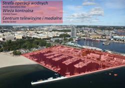 Centrum operacyjne zawodów zlokalizowane będzie głównie na terenie mariny.