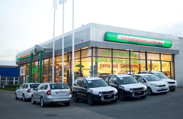 ...firmę Auto Centrum Sopot Lellek, która sprzedaje m.in. Skody.