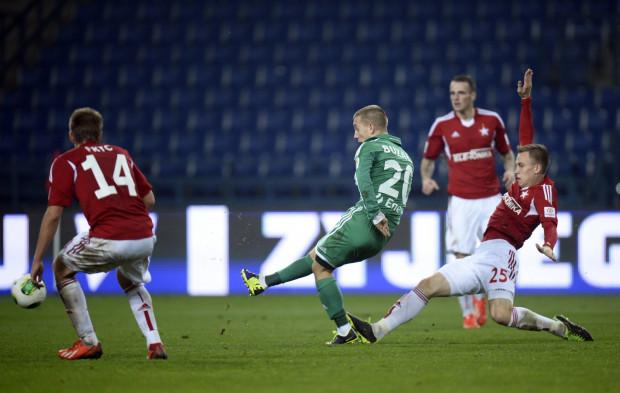 Paweł Buzała w Krakowie wszedł na boisko po przerwie. Strzelił czwartego gola w tym sezonie. Tym razem na wagę ćwierćfinału Pucharu Polski.