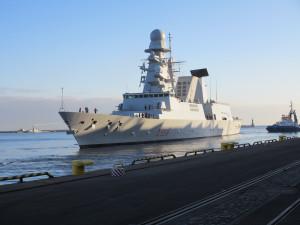 Wejście okrętów do Portu Wojennego i ćwiczenia to spore wydarzenie dla Marynarki Wojennej.