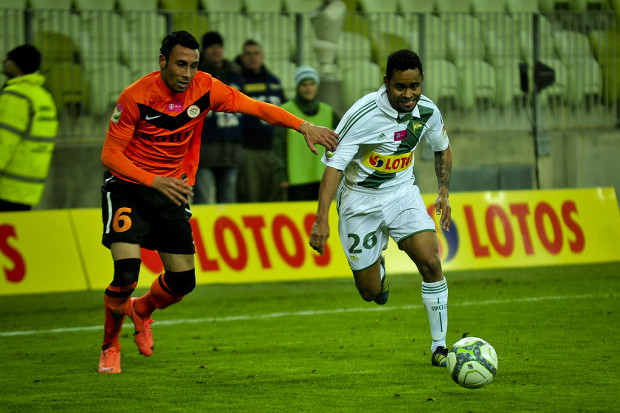 Deleu pierwszego gola dla Lechii w ekstraklasie zadedykował mamie, która oglądała jego występ na PGE Arenie.