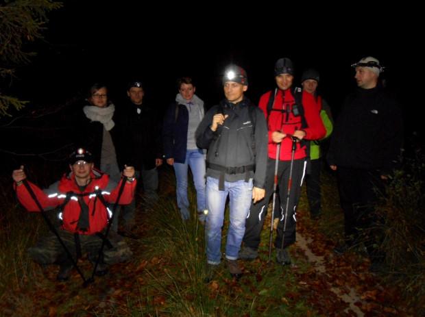 Wieczorna wędrówka przez Trójmiejski Park Krajobrazowy - w poszukiwaniu Diabelskiego Kamienia