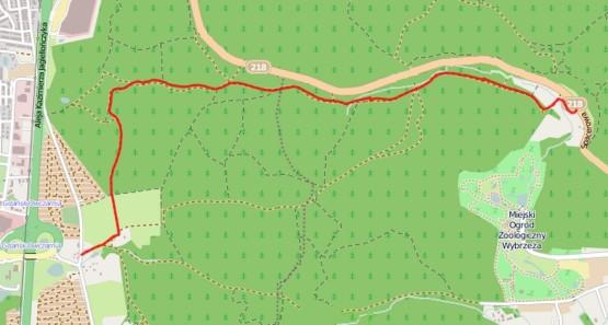 Kliknij na mapę by zobaczyć detale trasy