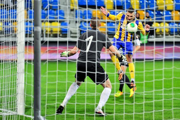 Do Michała Rzuchowskiego należał pierwszy i ostatni gol w spotkaniu z Koroną Kielce.