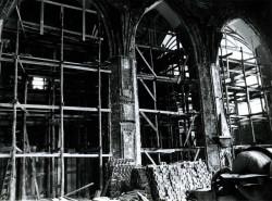 Odbudowa świątyni trwała kilkadziesiąt lat.