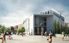 Oprócz samego budynku dworca powstanie też hotel oraz kameralne centrum handlowo-usługowe.