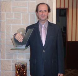 Prezes Gdyńskiego Klubu Motorowego Bałtyk Marek Gościcki