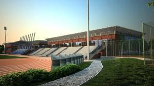 Obiekt rekreacyjno-sportowy, który powstać ma przy ul. Wita Stwosza, na tyłach budynku Olivia Business Centre.