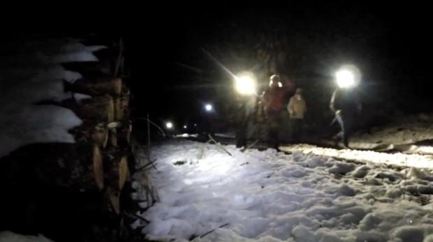 Pomimo dodatnich temperatur w dolinach Trójmiejskiego Parku Krajobrazowego nadal leży śnieg.