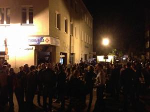 Tłum na Lawendowej. Zdjęcie wykonano we wrześniu.