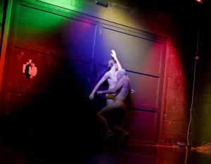 """Krzysztof """"Leon"""" Dziemaszkiewicz oraz Anna Steller zaprezentowali najodważniejszy spektakl podczas Dnia Tańca na Metropolia jest Okey."""
