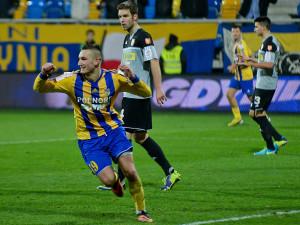 Arka rozgromiła w Gdyni Koronę Kielce 5:1 w meczu o awans do ćwierćfinału Pucharu Polski.