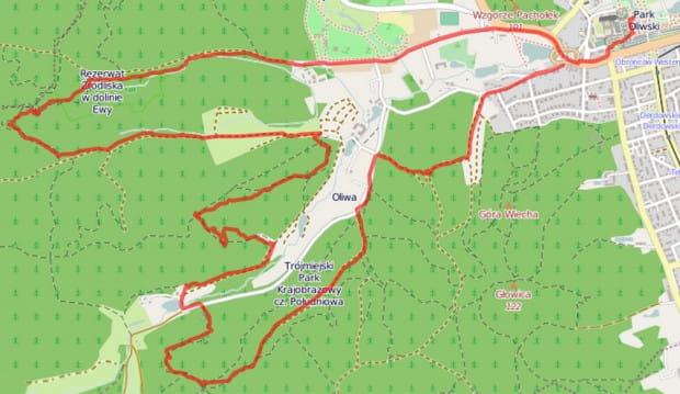 Kliknij na mapę i zobacz detale naszej trasy