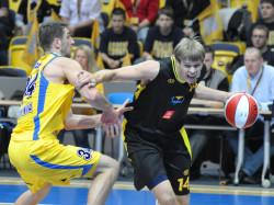 Kuzminskas był jednym z najlepszych środkowych TBL w sezonie 2009/2010.
