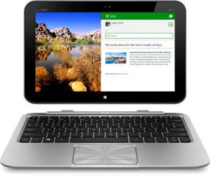 Odczepiany ekran laptopa służący jako tablet bywa użyteczny.