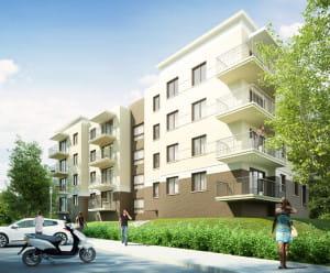 W budowie i sprzedaży są dwa budynki Osiedla Promiennego firmy Inwesting, na granicy Ujeściska i Oruni Górnej.