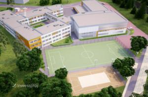Szkoła w Kowalach powstanie na bazie zmodernizowanego nieco projektu szkoły w Kokoszkach.