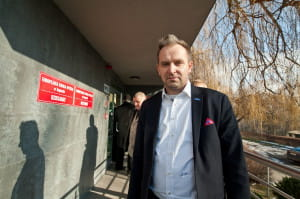 Janusz Hirsch - obecny dyrektor uczelni.