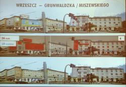 Symulacja wizualna skrzyżowania al. Grunwaldzkiej z ul. Miszewskiego, gdyby miały zastosowanie regulacje nowego dokumentu.