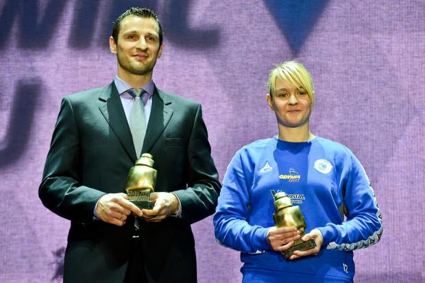 Małgorzata Gapska oraz Piotr Szczotka to najlepsi sportowcy  Gdyni w 2013 roku.