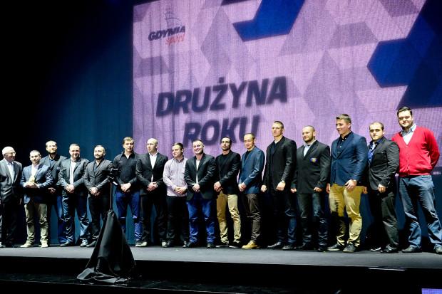 Nagrodę dla najlepszej drużyny roku 2013 odebrali rugbiści Arki Gdynia.