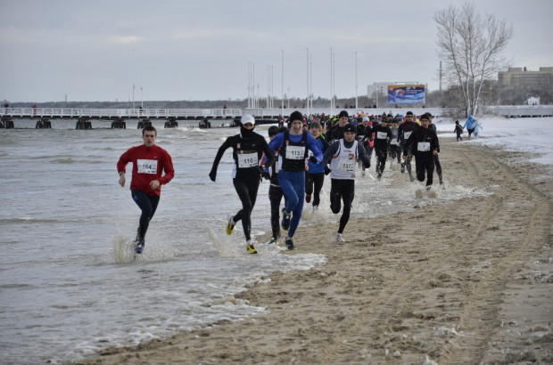 W poprzednim sopockim biegu po plaży wzięło udział 200 uczestników.