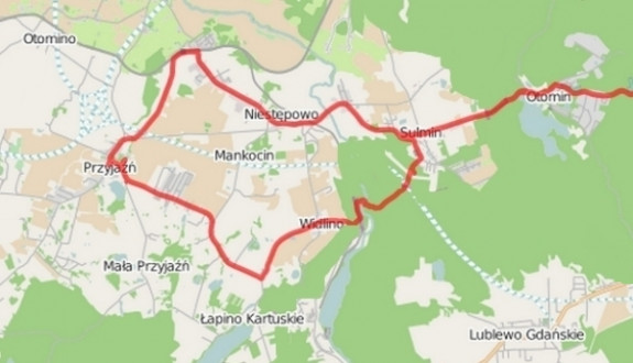 Kliknij na mapę i zapoznaj się ze szczegółami trasy